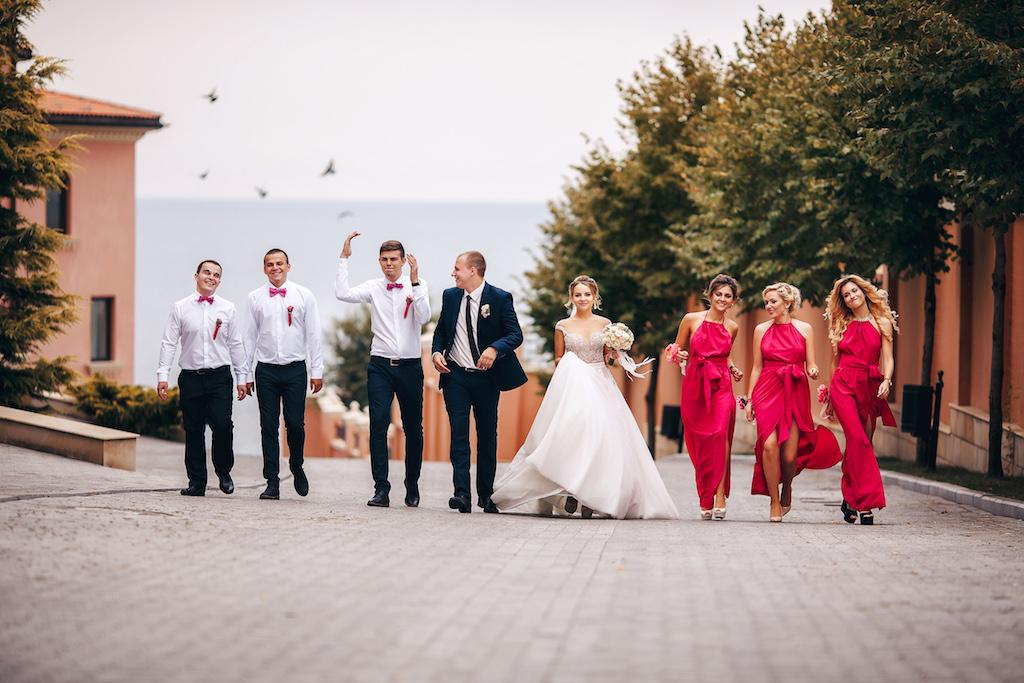 Свадебная прогулка в городе Одесса