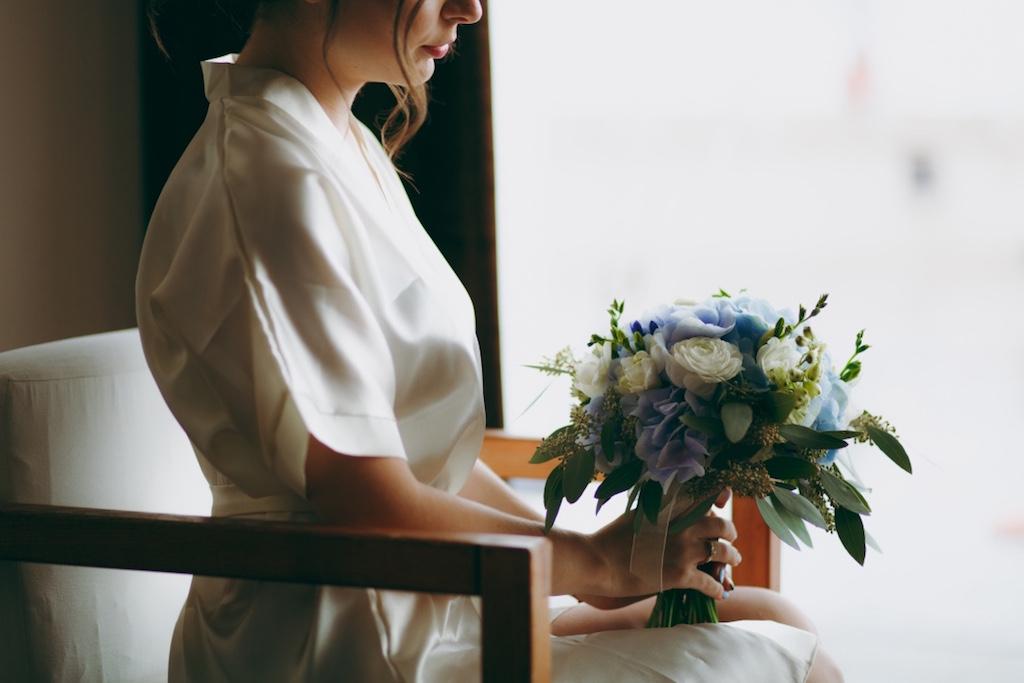 Заказ свадебного букета в Одессе