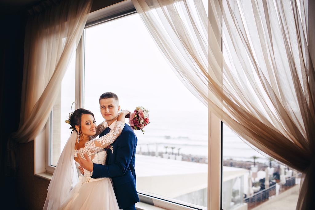 Утро невесты и жениха в Одессе