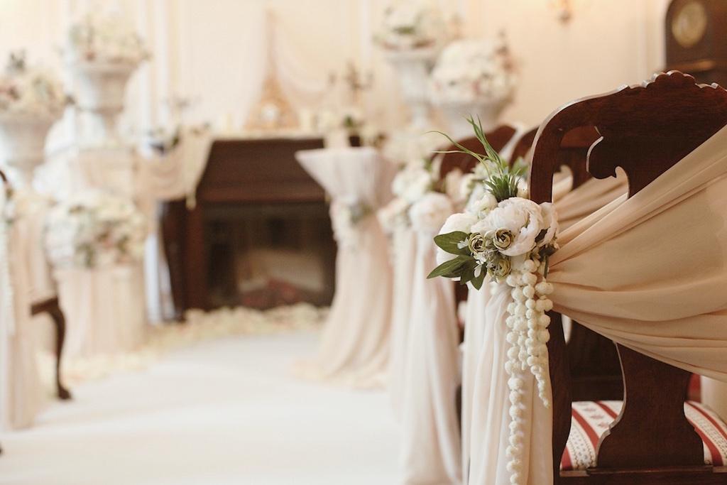 Декор свадьбы в ресторане Моцарт в Одессе