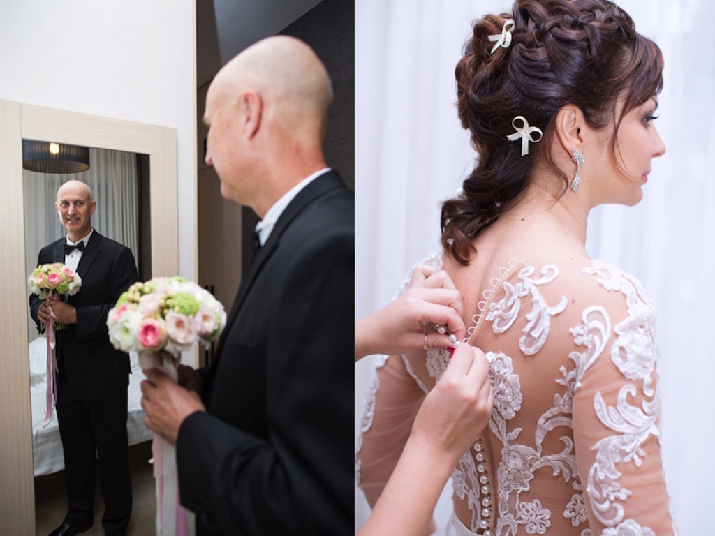 Сборы жениха и невесты в Одессе