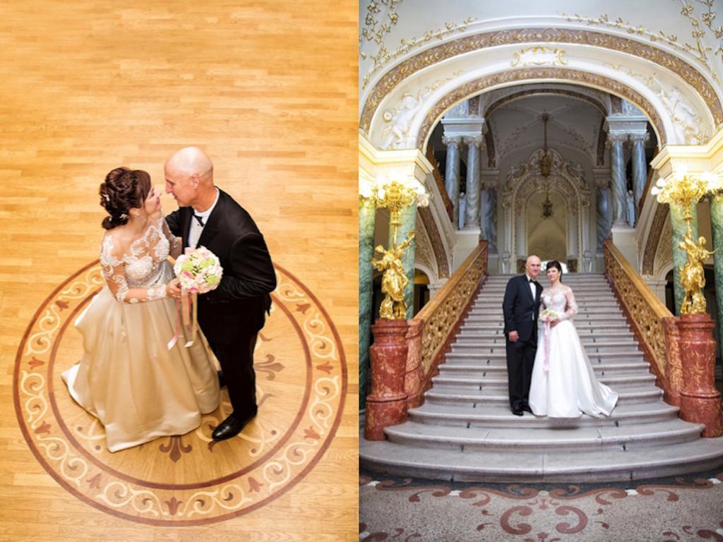 свадебная фотосессия в оперном театре Одессы
