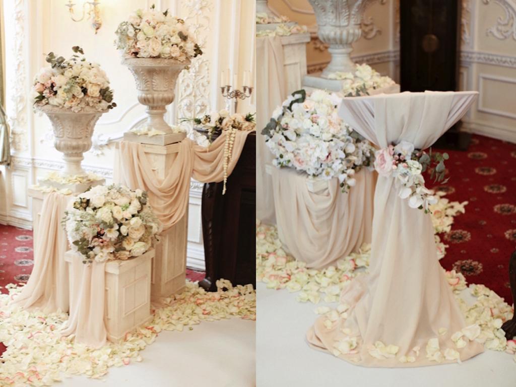 Организация свадьбы в историческом ресторане Моцарт