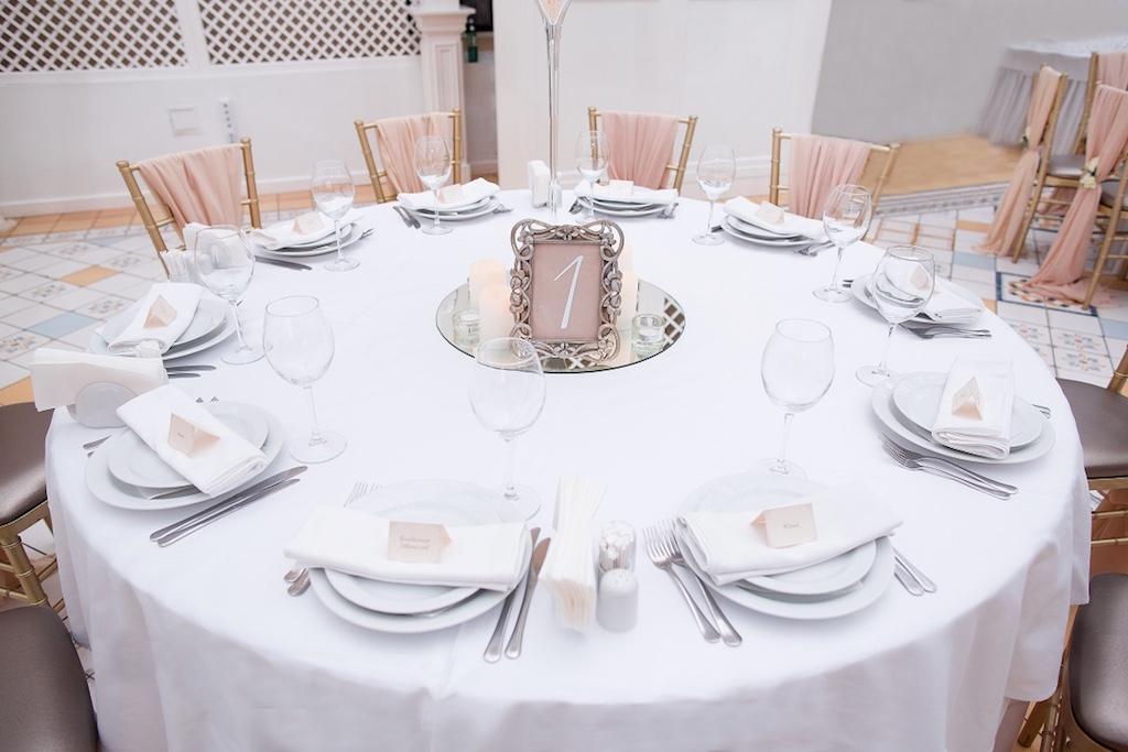 Именная рассадка гостей в ресторане Сады Победы