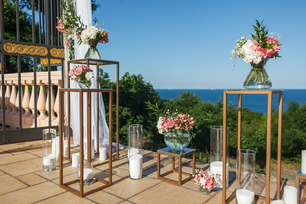 Детали декора от свадебного агенства Скоро Свадьба