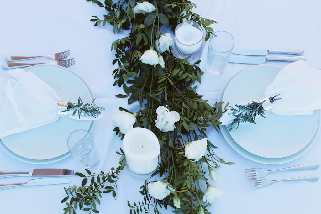 Оформление гостевых столов от Скоро Свадьба