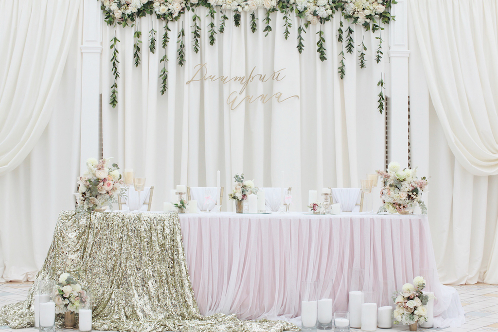 Декор свадебного стола от Скоро Свадьба