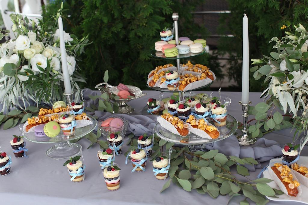 Candy bar на свадьбах в Одессе