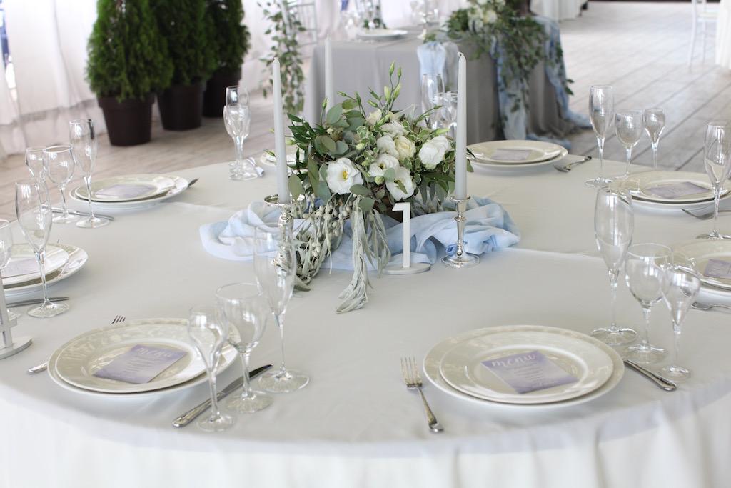 Оформление гостевых столов в Одессе