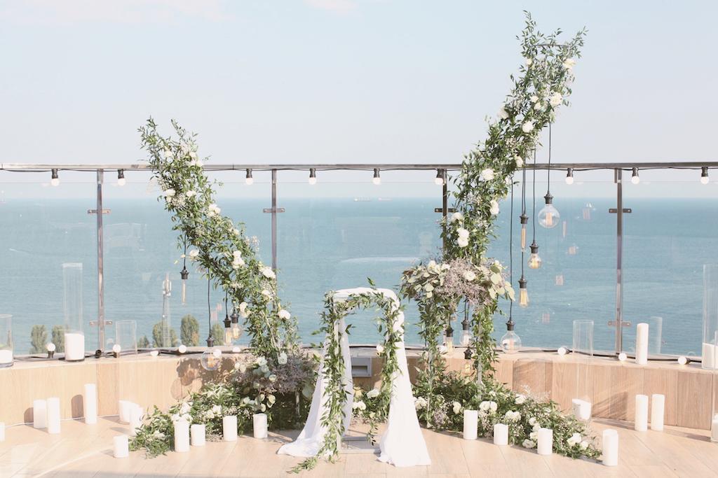 Проведение свадьбы в ресторане Panorama De Lux