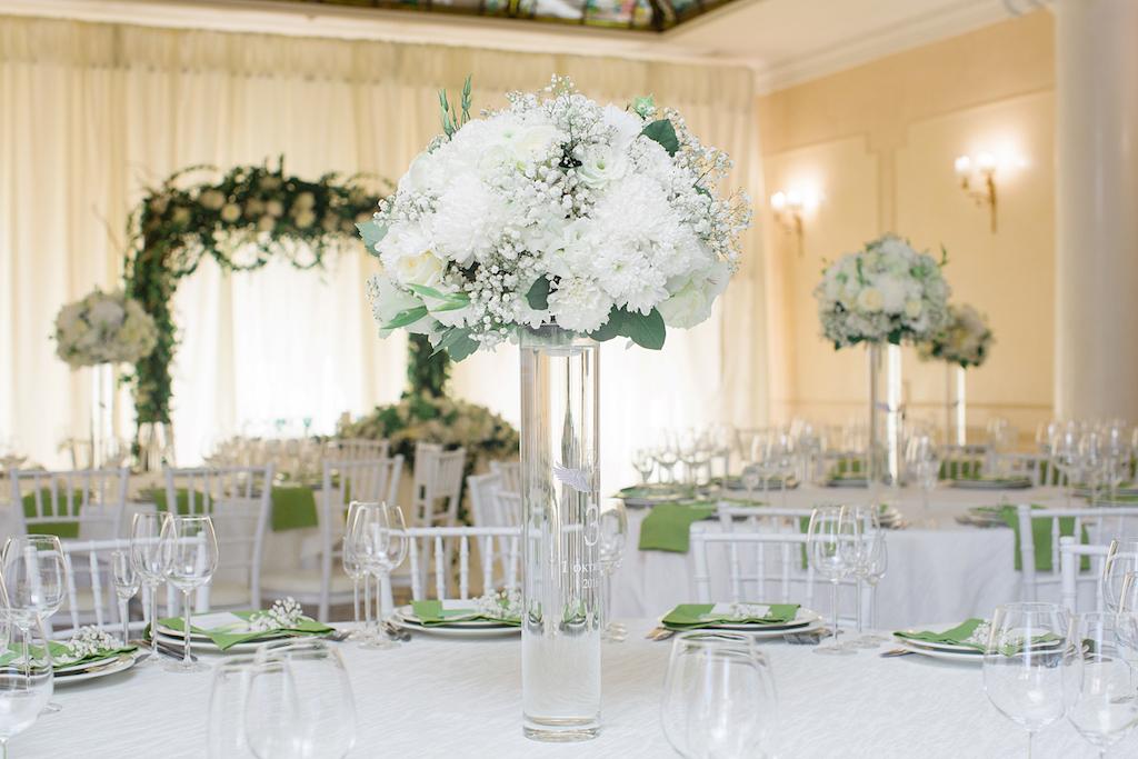 Живая флористика на свадьбу в Одессе