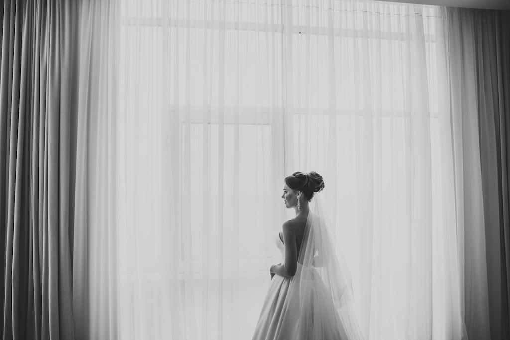 Утро невесты в гостинице Кадорр