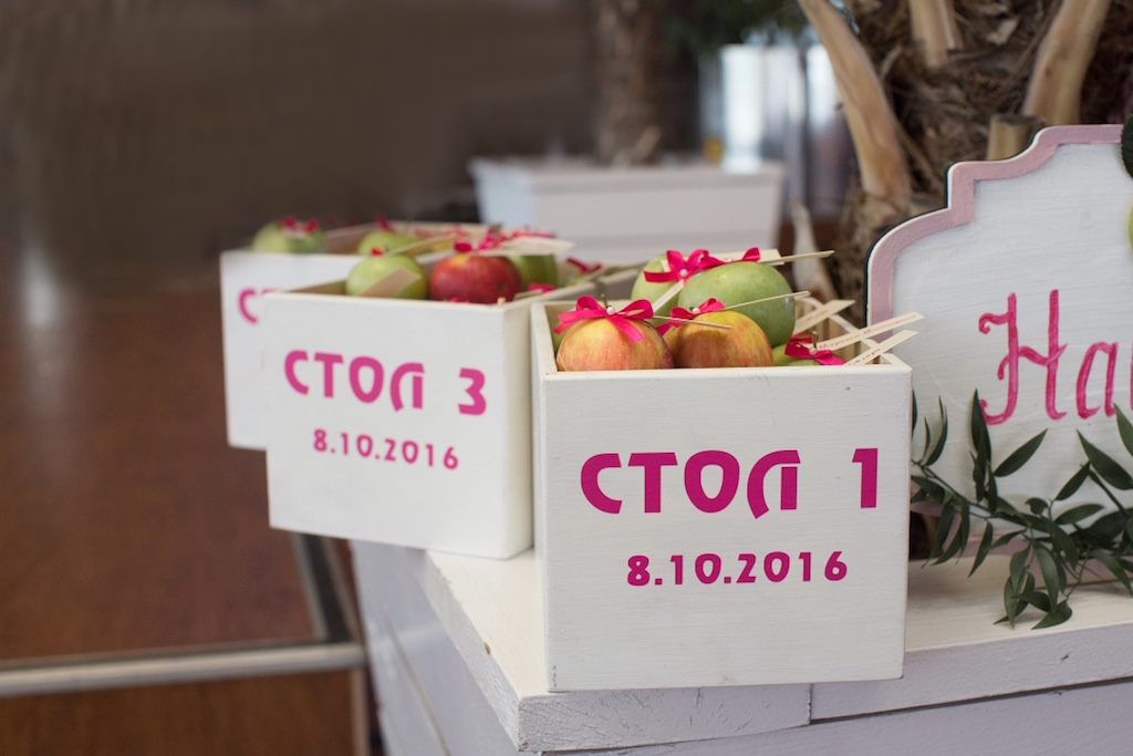 Оформление свадьбы в ресторане Privat Elling свадебным агентством Скоро Свадьба