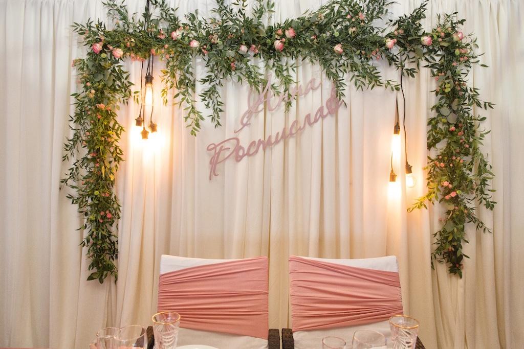 Деревянные имена на свадьбу в Одессе