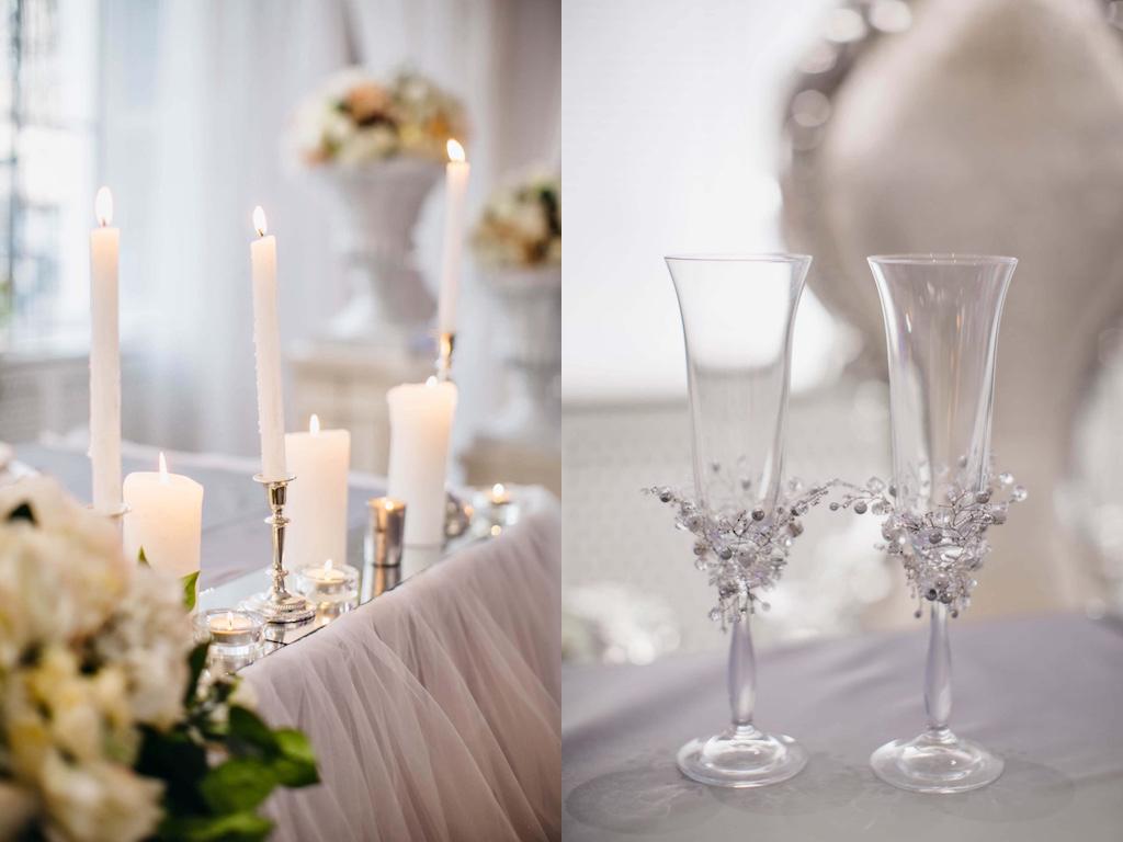 Свадебные бокалы в Одессе