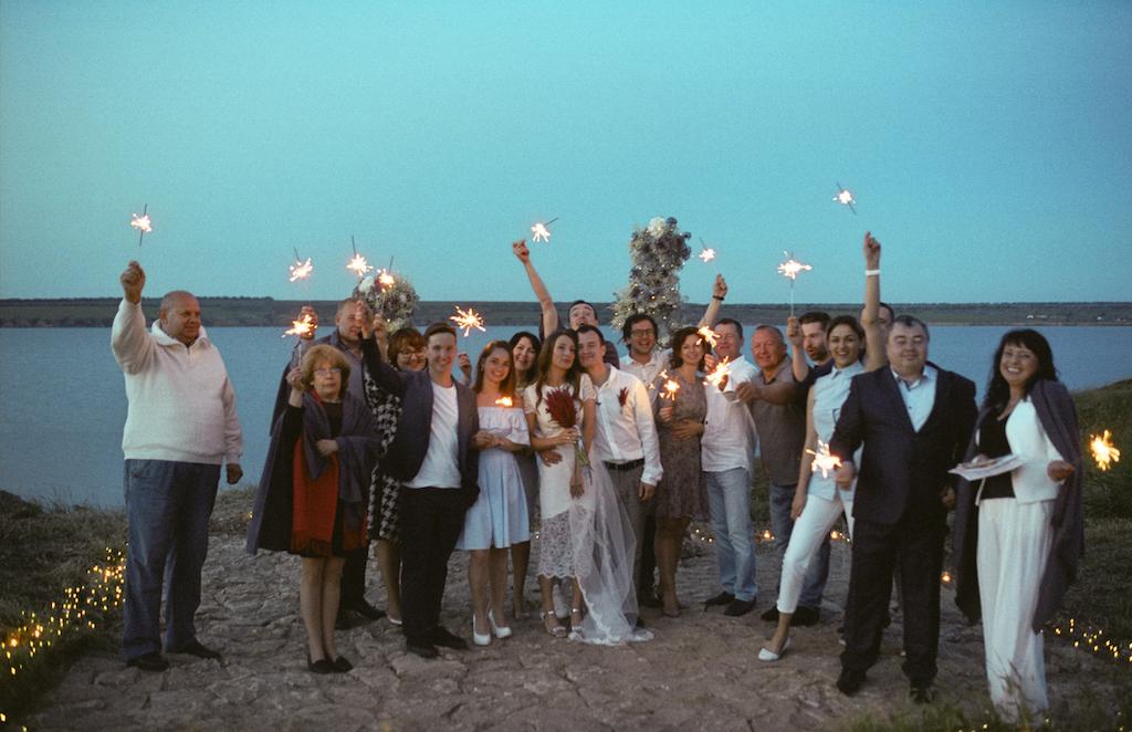 Семейная свадьба в Одессе