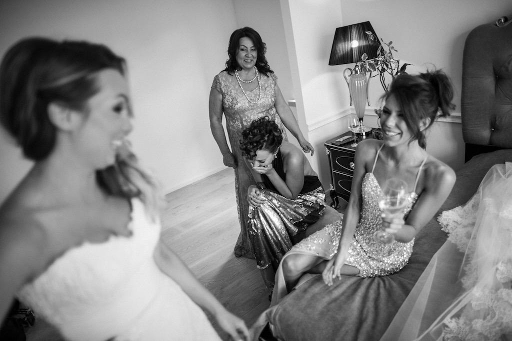 Утро невесты в отелях Одессы