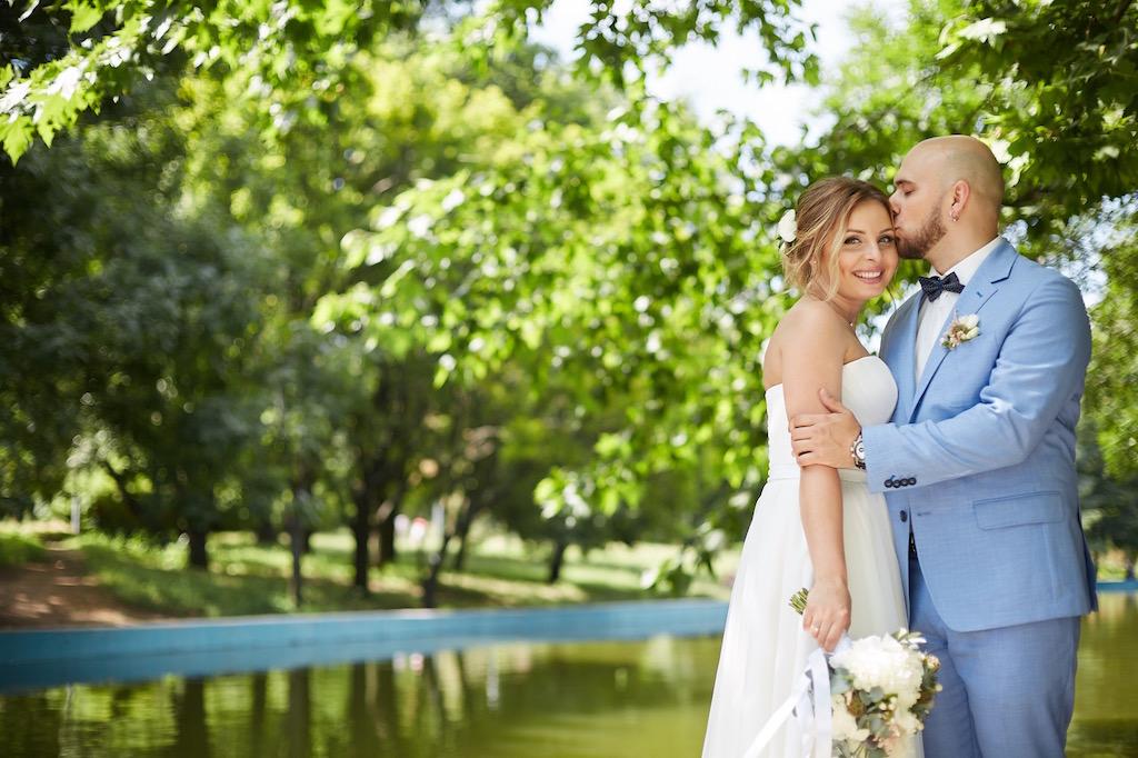 Свадебная съемка в парке Горького Одесса