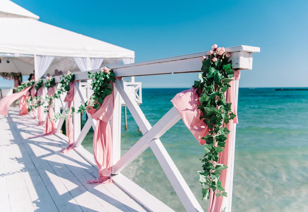 Свадьба в ресторане Ривьера в Одессе