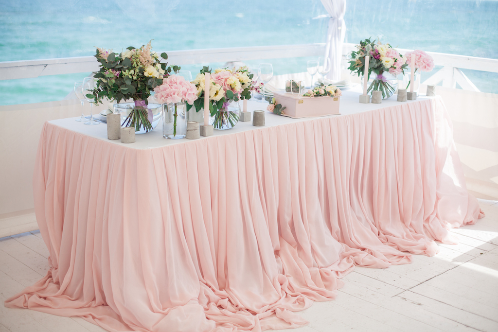 Декор свадебного президиума в Одессе