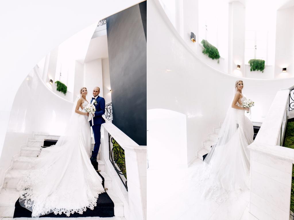 Свадебная фотосессия в отеле Париж Одесса