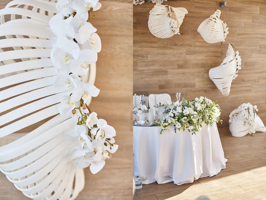 Декор свадебного президиума Одесса