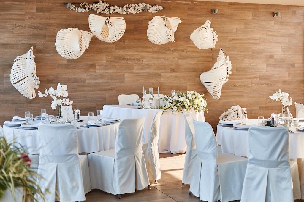 Оформление банкета на свадьбу в Одессе
