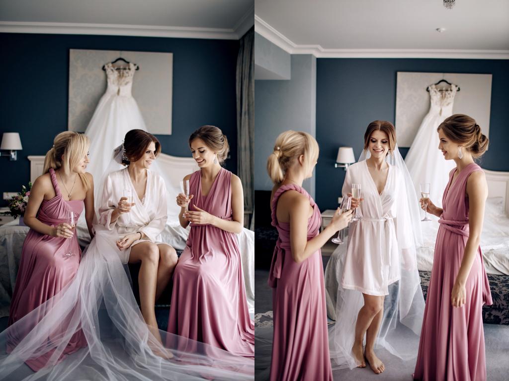 Как сделать красивыми сборы невесты в Одессе