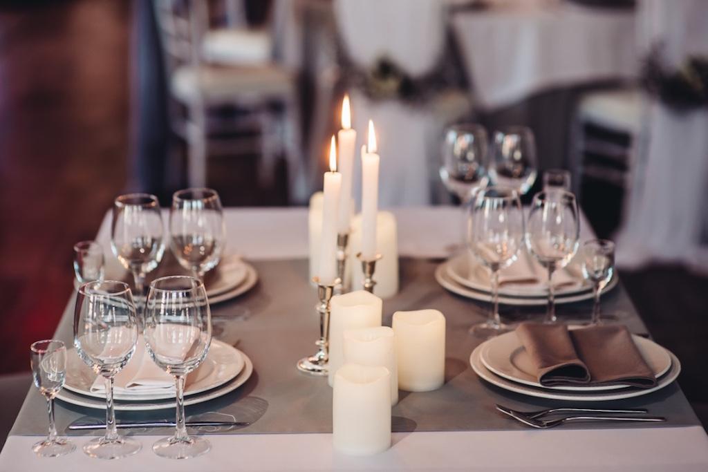 Декор гостевых столов