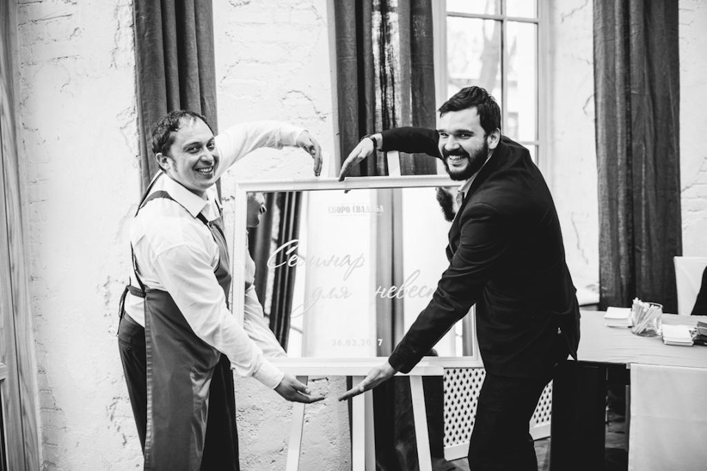 Организация свадьбы в ресторане Cellini