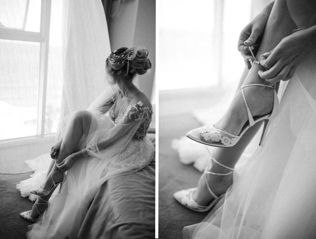утро невесты Одессам в ресторане Портофино
