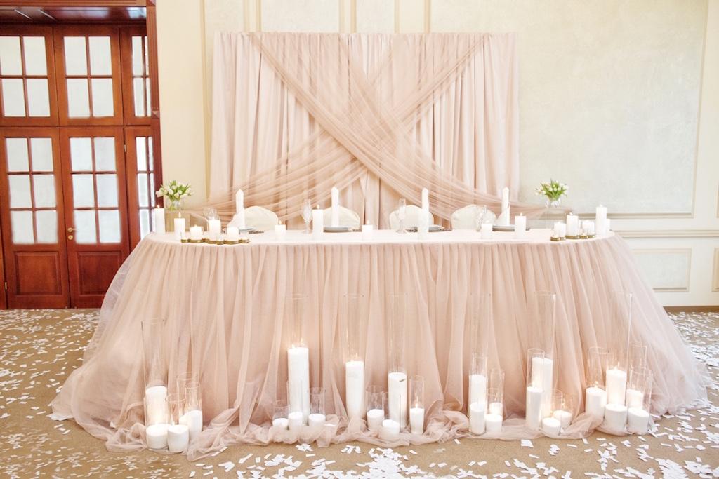 Декор свадьбы в ресторане Ренессанс