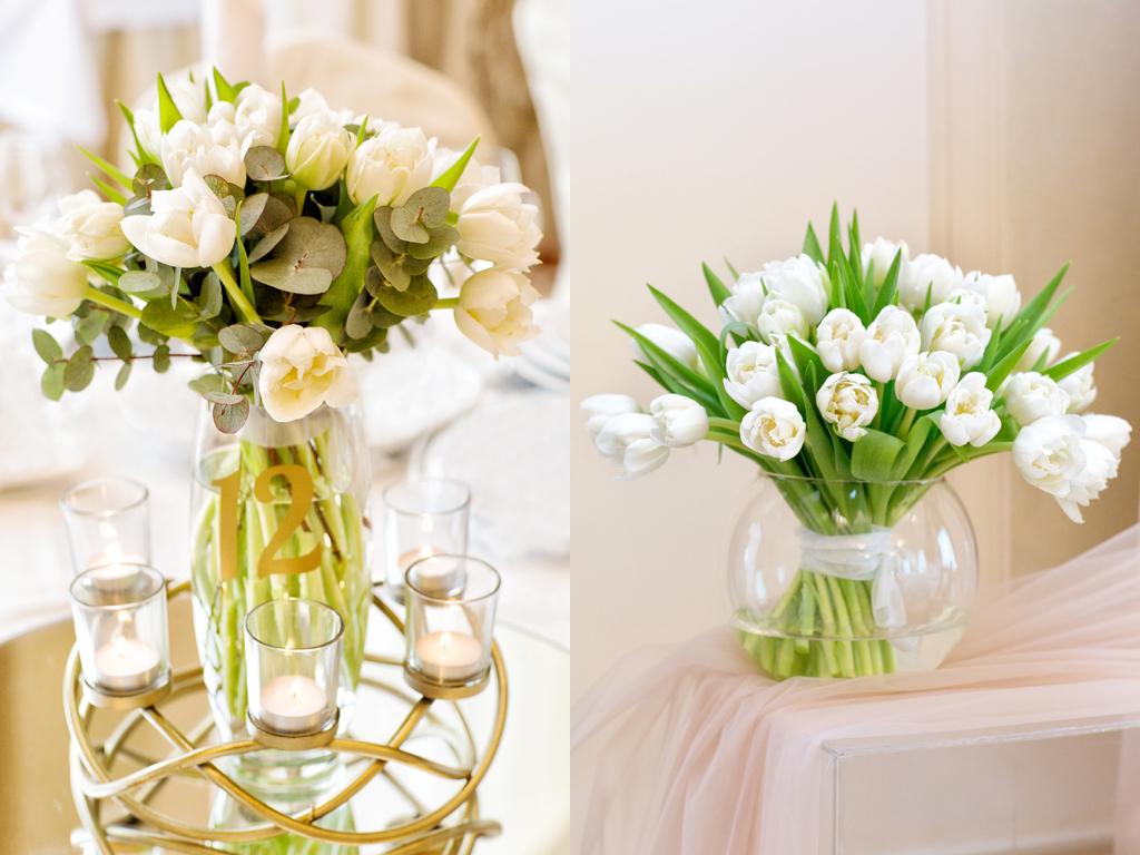 Оформление живой флористики на свадьбе в Одессе