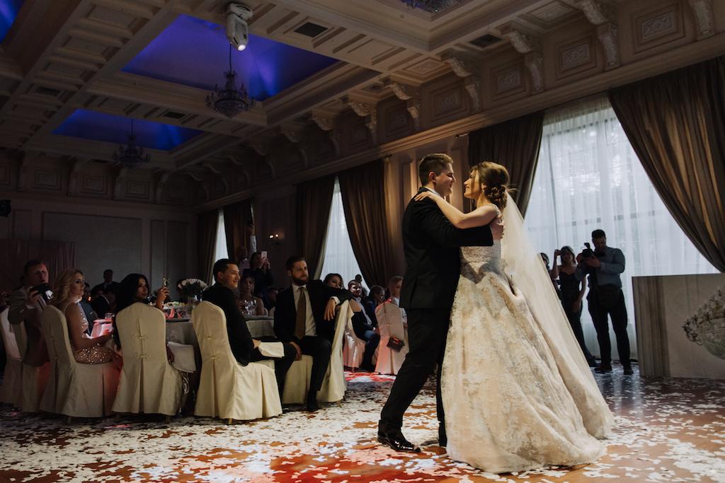 Постановка первого танца в Одессе