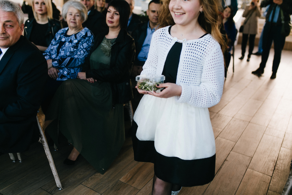 Выездная церемония в Одессе