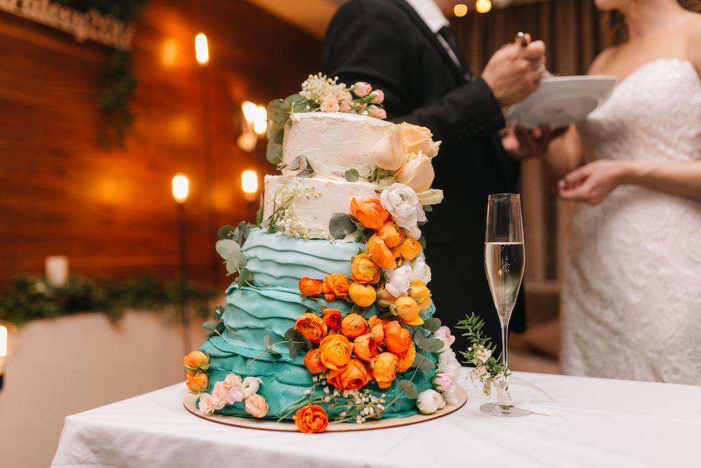 Заказ свадебного торта в Одессе