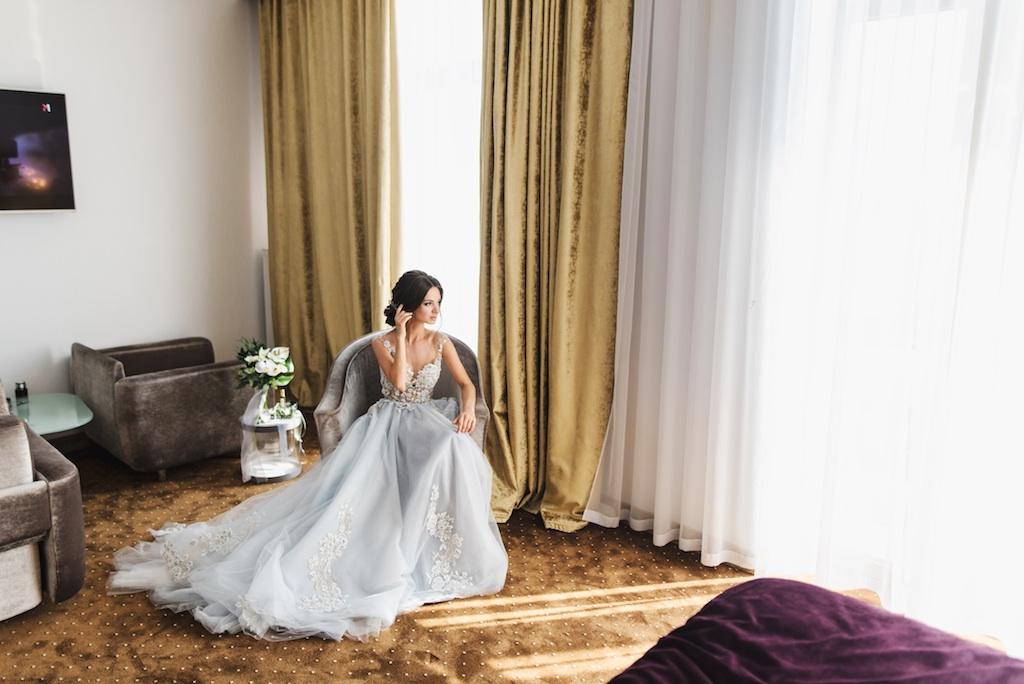 утро невесты в отеле Panorama De Luxe