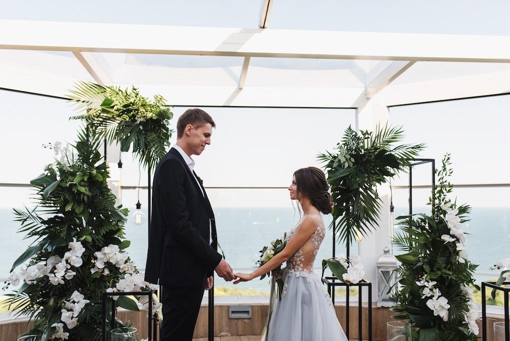 декор свадьбы в отеле Panorama De Luxe