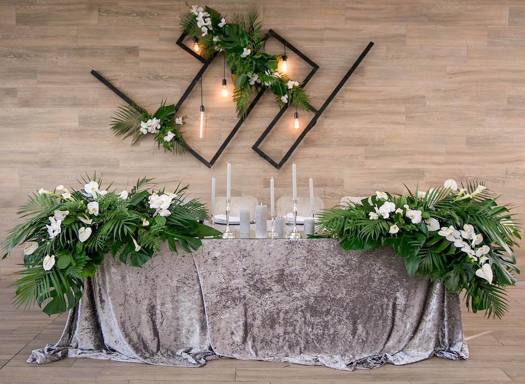 тропическая свадьба в Panorama De Luxe