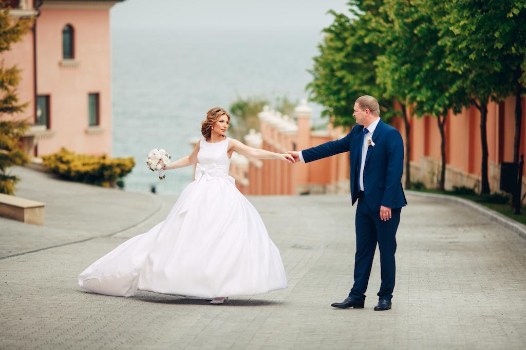 Свадебная прогулка в Одессе