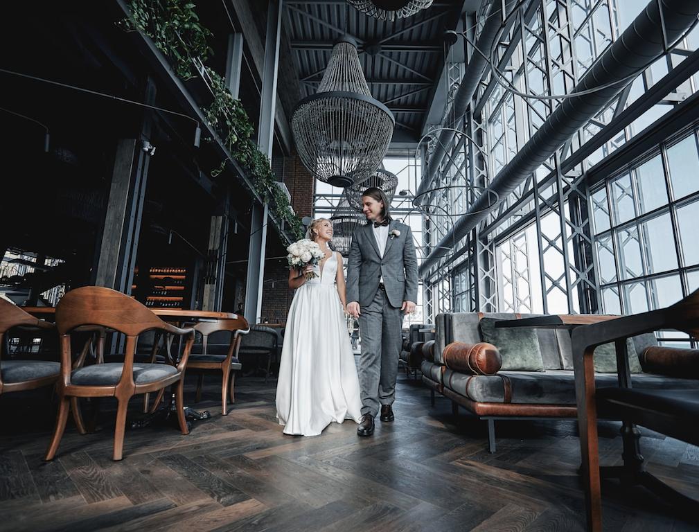 свадьба в ресторане YUG