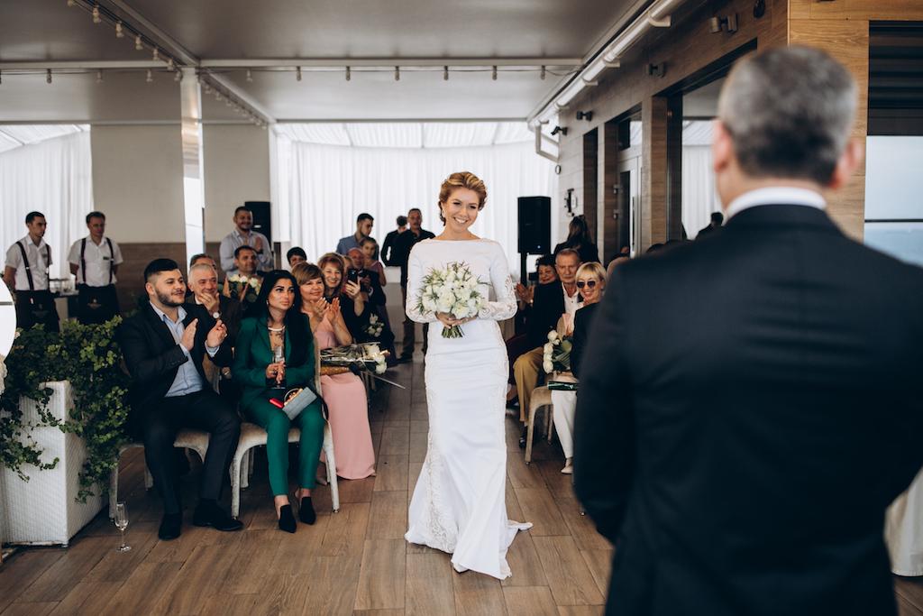 свадьба в ресторане Panorama De Luxe