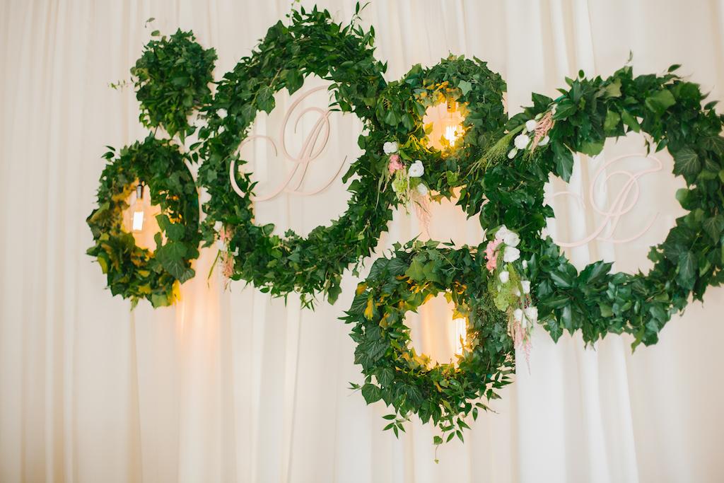 Оформление свадьбы живой флористикой в городе Одесса