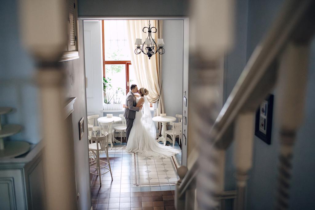 Свадебная фотосессия в кофейнях Одессы