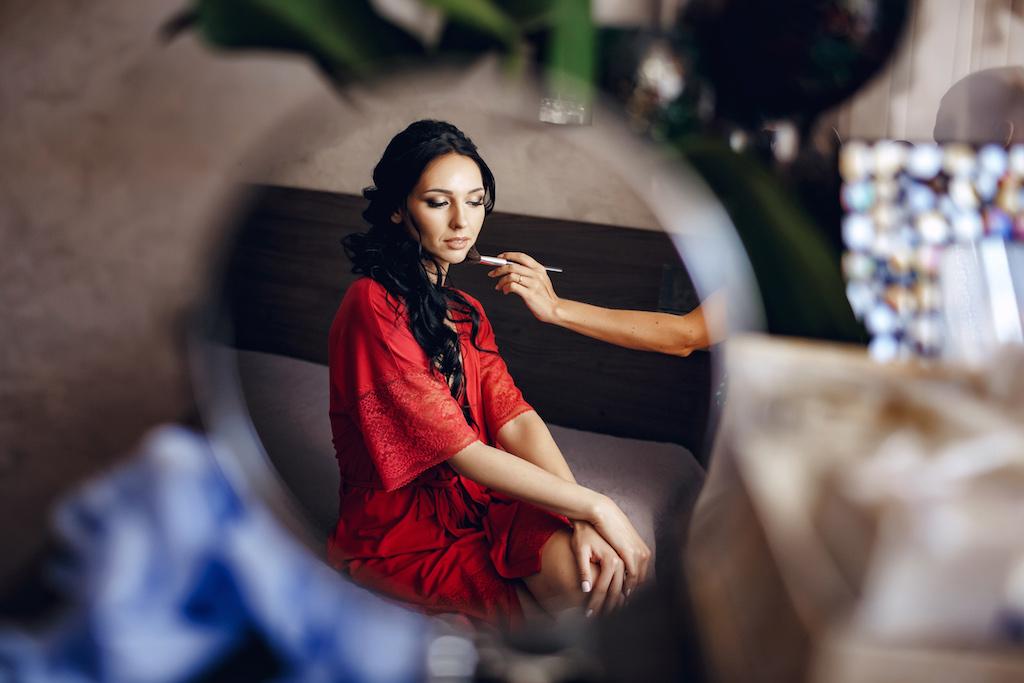 Свадебный макияж и прическа в Одессе
