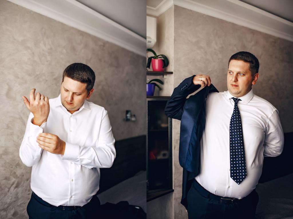 Сборы жениха в городе Одесса