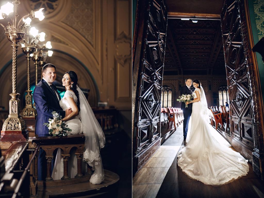 Свадебная фотосессия в Музкомедии Одессы