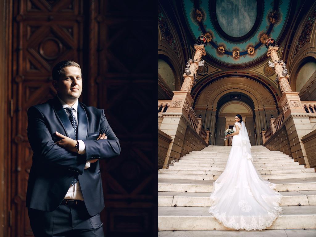 Свадебная фотосессия в Музкомедии