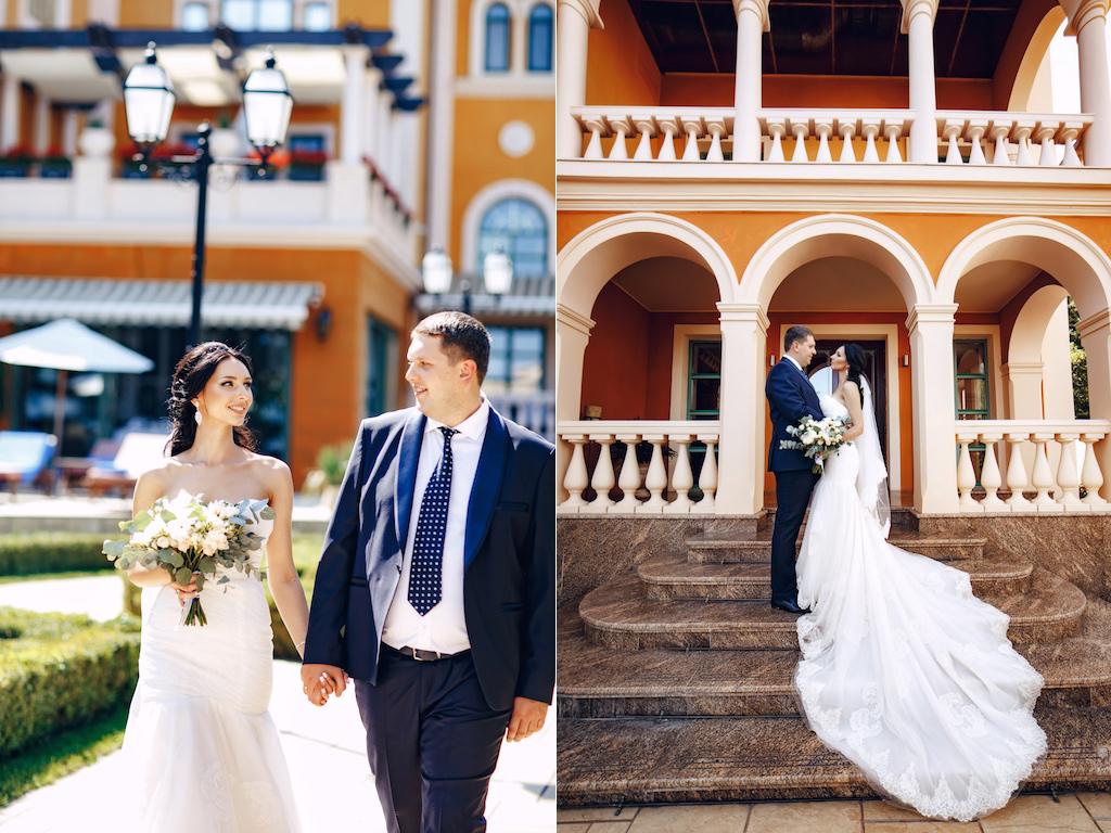 Свадебная фотосессия в отеле Джоконда