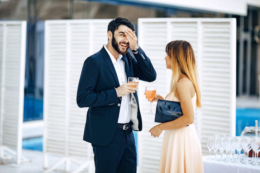 Развлечение на свадебный фуршет в Одессе